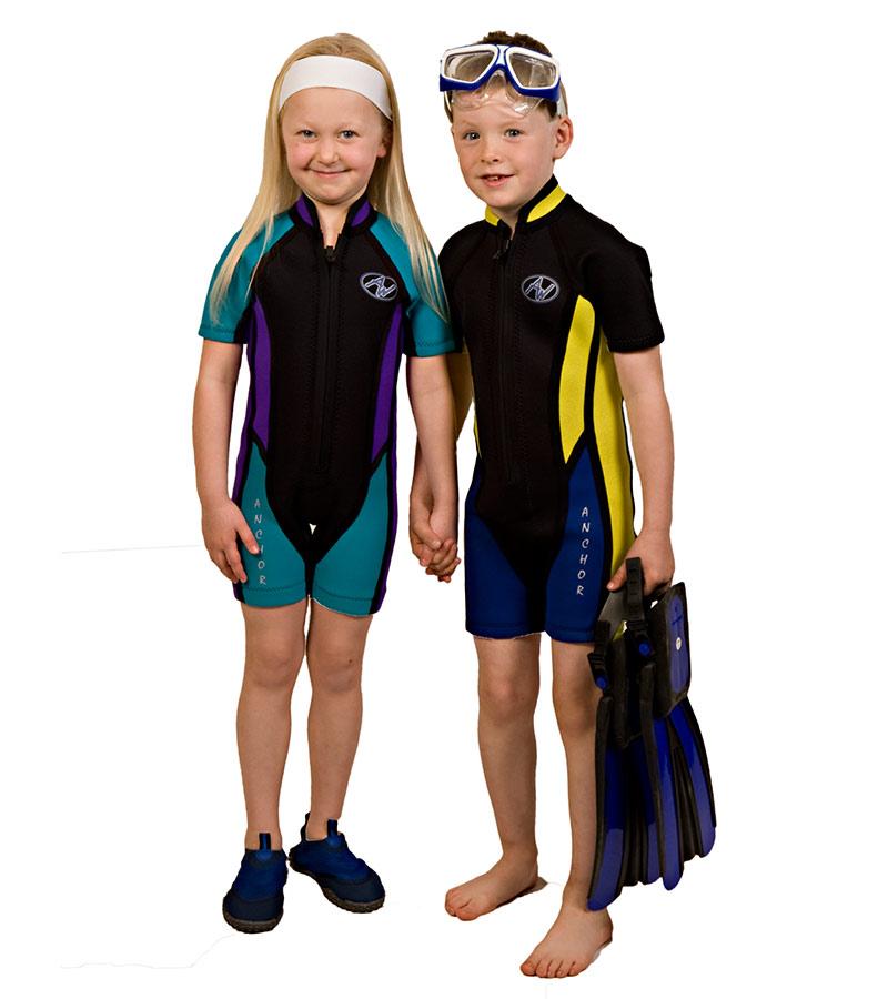 ski suit junior anchor wetsuits